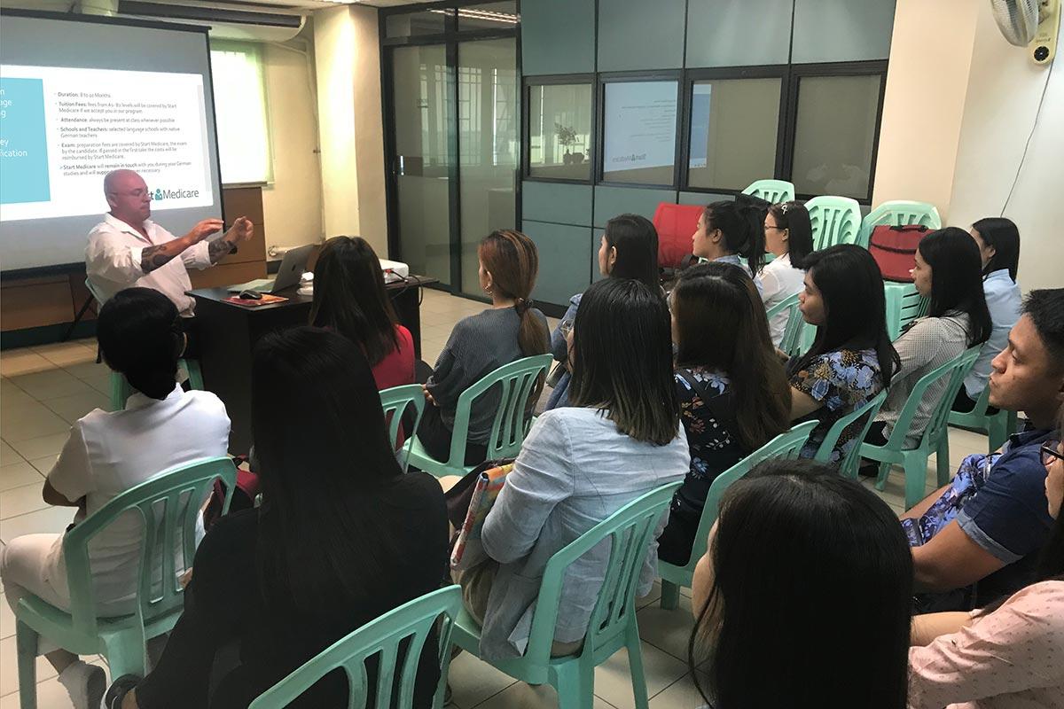 Recruiting-Veranstaltung in Manila